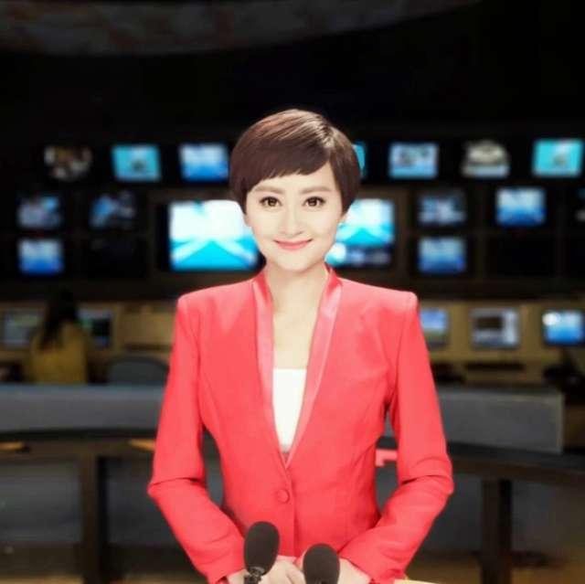 电视台主持人小依